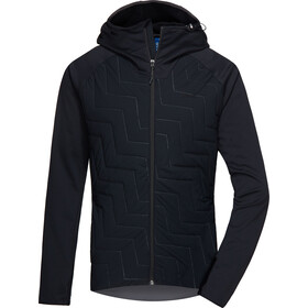 PYUA Snug-Y Hooded Hybrid Jacket Men black